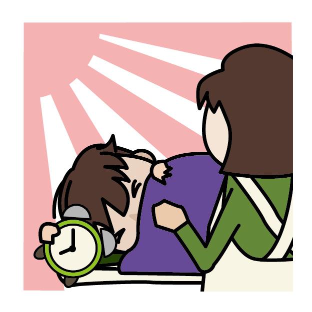 朝起きれない子供、それは病気かもしれません。
