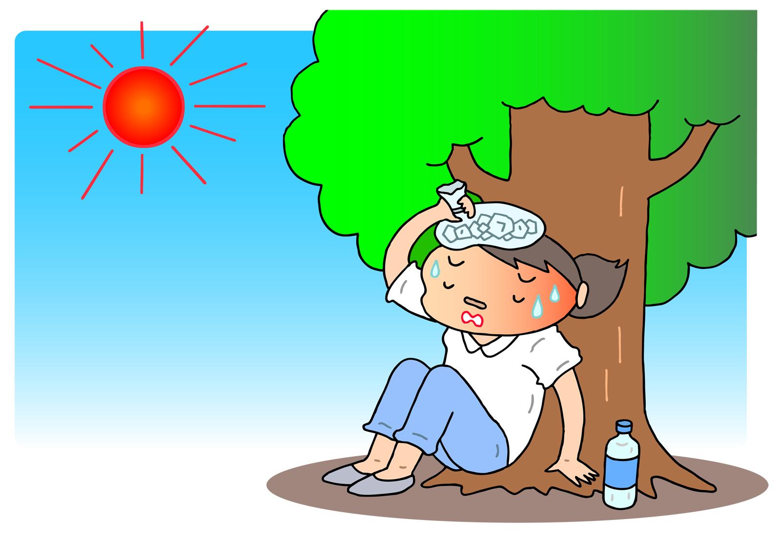 熱中症はその症状で段階がわかれます|対応はどうすればいいの?